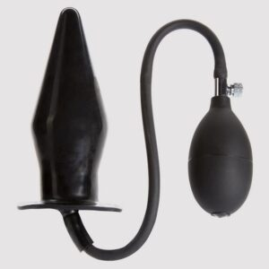 Cock Locker Large Inflatable Butt Plug 7.5 Inch