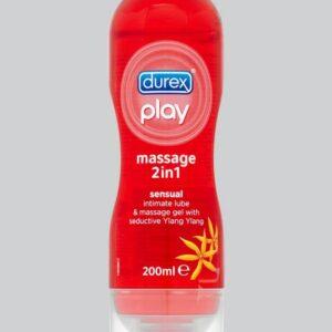 Durex Play Massage 2-in-1 Sensual Personal Lubricant 200ml