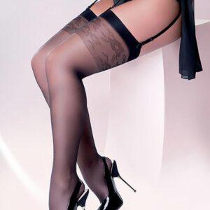 Gabriella Katia Plus Size Floral Patterned Top Stockings