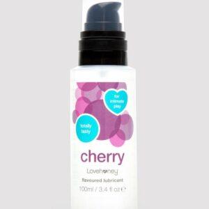 Lovehoney Cherry Flavoured Lubricant 100ml