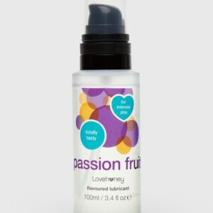 Lovehoney Passion Fruit Flavoured Lubricant 100ml