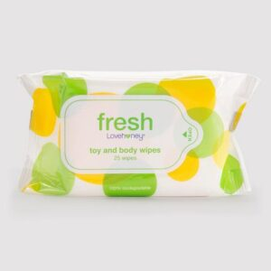Lovehoney Fresh Biodegradable Sex Toy & Body Wipes (25 Pack)