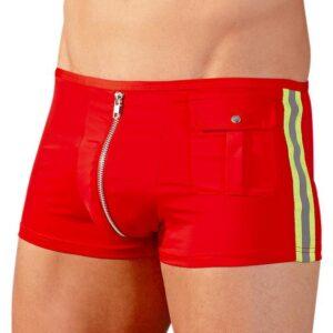 Svenjoyment Sexy Fireman Zip Front Boxers