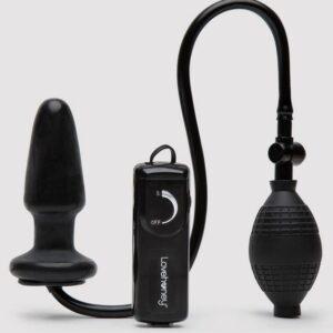 Lovehoney Vibrating Inflatable Butt Plug 4.5 Inch