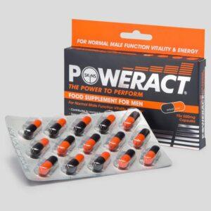 Skins Poweract Performance Capsules for Men (15 Capsules)