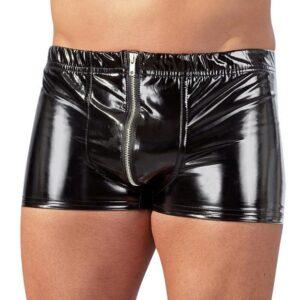 Black Level PVC Zip Front Boxers