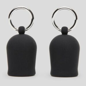 Black Velvets Silicone Nipple Suckers with Rings