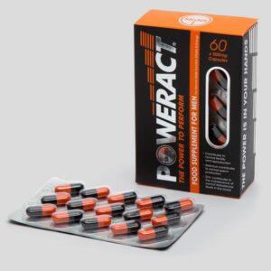 Skins Poweract Performance Capsules for Men (60 Capsules)