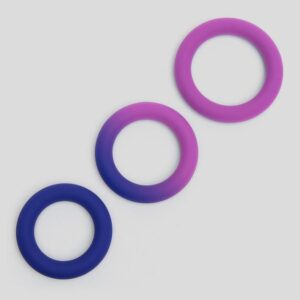Lovehoney Colourplay Colour-Changing Silicone Cock Ring Set (3 Pack)