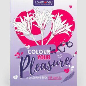 Lovehoney Colour Your Pleasure Colouring Book