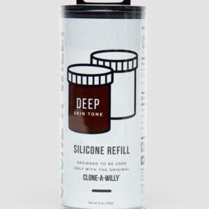 Clone-A-Willy Dark Skin Tone Silicone Refill