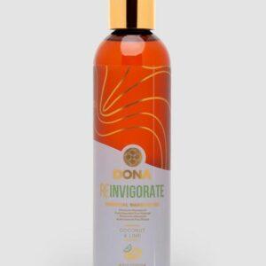 DONA Reinvigorate Coconut and Lime Massage Oil 120ml