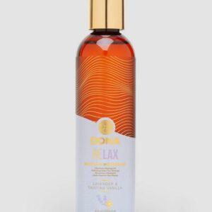 DONA Relax Lavender and Tahitian Vanilla Massage Oil 120ml
